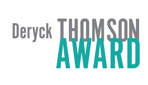 Deryck Thomson Award