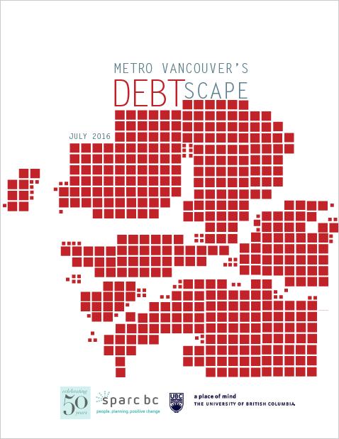 Metro Vancouver's Debtscape, July 2016