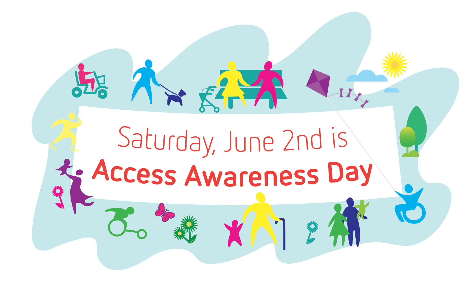 Saturday, June 2nd is Access Awareness Day