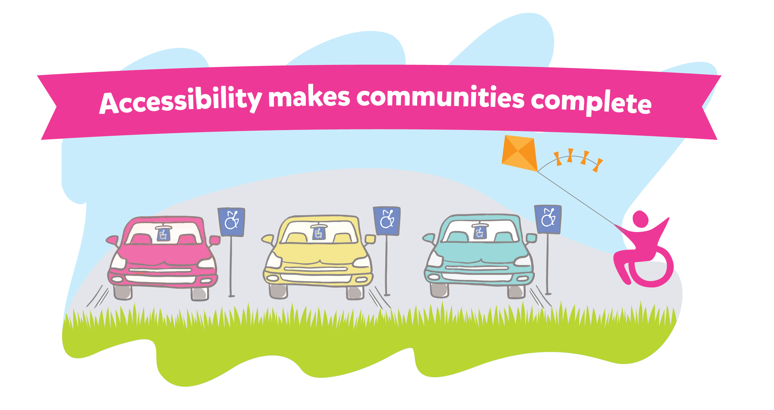 Accessibility makes communities complete