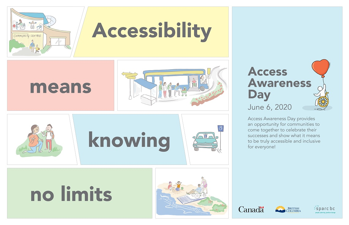 Poster: Access Awareness Day June 6th, 2020